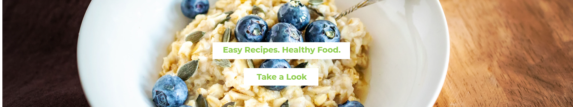 Easy Recipes. Healthy Food.